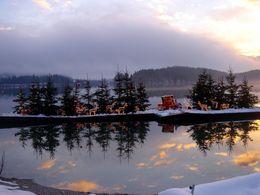 Winter in Kärnten am Faaker See